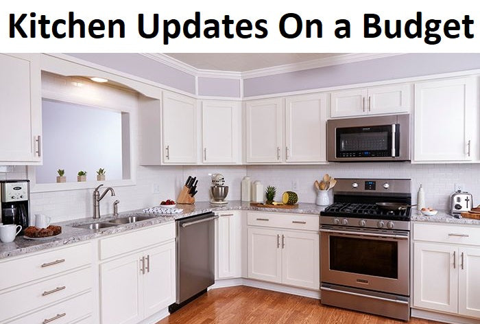 Home Decorating: Kitchen on a Budget,kitchen updates on a budget,cheap kitchen design ideas,how to update an old kitchen on a budget,updating kitchen cabinets on a budget,cheap kitchen updates before and after,simple low budget kitchen designs,small kitchen ideas on a budget - before and after,cheap kitchen ideas for small kitchens