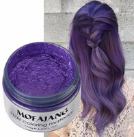 colored hair without hair dye - kulman