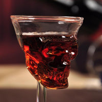 SKULL HEAD WHISKY GLASS - kulman