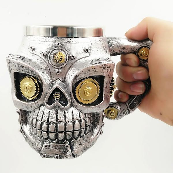 Mechanical Skull Mug - kulman