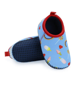 Neoprene Swim Shoes for Toddler with Lollies & Rainbows