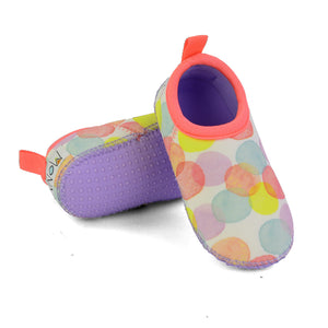 Neoprene Swim Shoes for Toddler in Dotty
