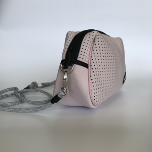 Neoprene Blush Pink Shoulder Bag