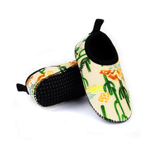 Neoprene Swim Shoes for Toddler with Cactus