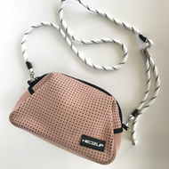 Neoprene Dusty Pink Shoulder Bag