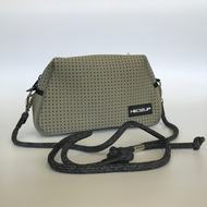 Neoprene Khaki Green Shoulder Bag