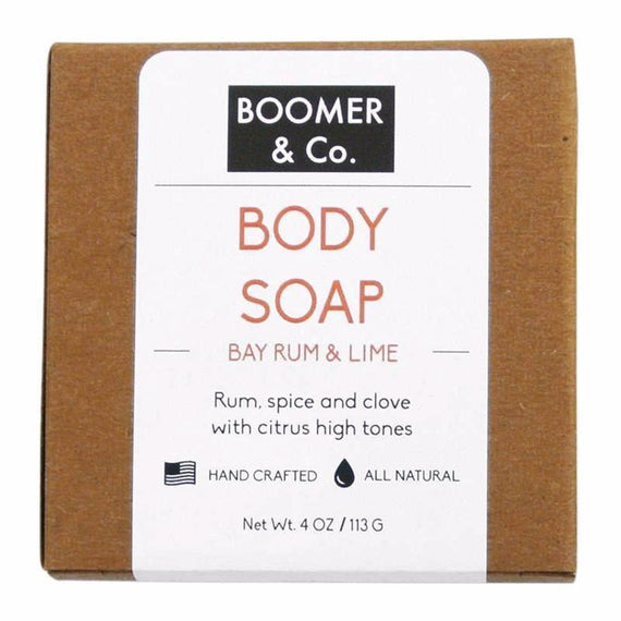Bay Rum & Lime Soap Men's