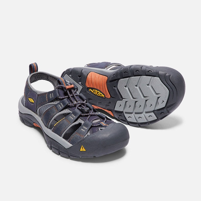 1001931 Keen Men's Newport H2 India Ink/Rust
