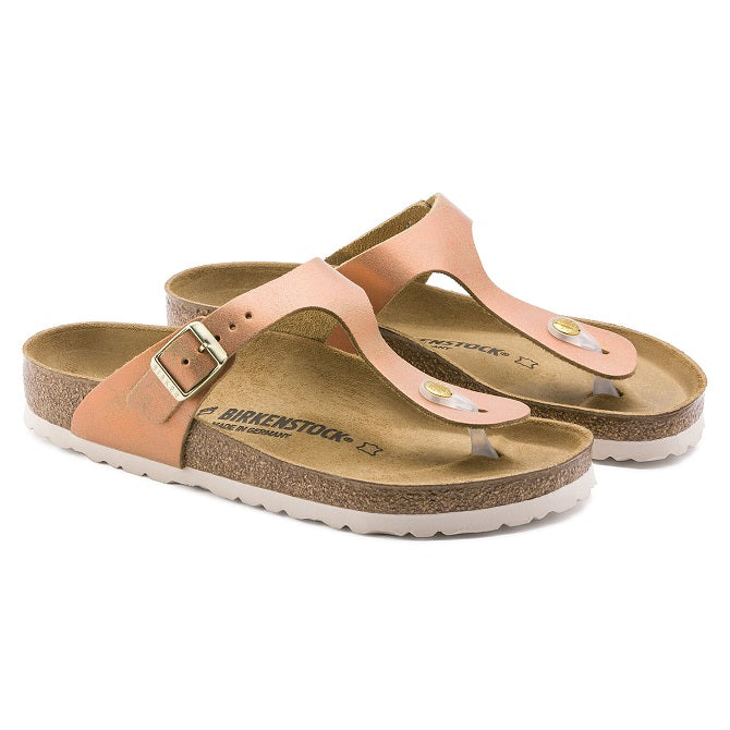 1012909 Gizeh Suede Leather Washed Metallic Sea Copper