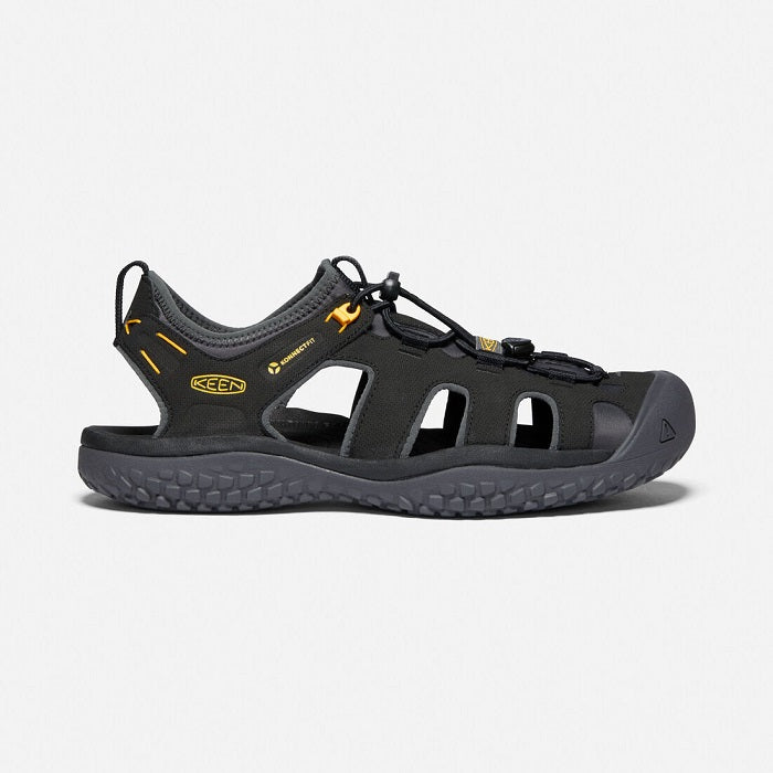 1022246 Keen Men's SOLR Black/Gold