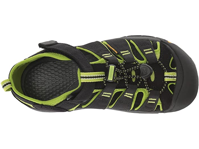 1009965  Kid's Newport Black/Lime Youth