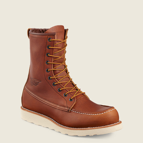 "10877 Red Wing Men's 8"" Lace Up Soft Toe"