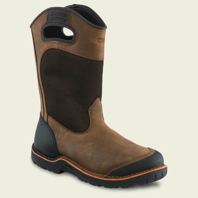 "5715 Worx Men's Talus 11"" Pull-On Steel Toe"