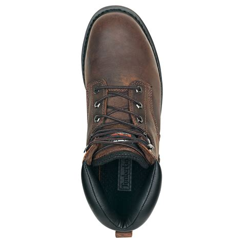 "33034 Timberland Men's 6"" Steel Safety Toe"