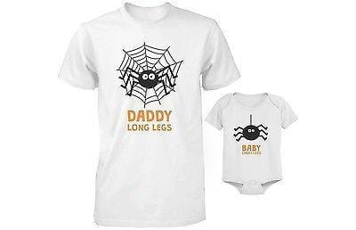 Cute Father and Son Matching Outfit for Halloween - Daddy and Baby Spider