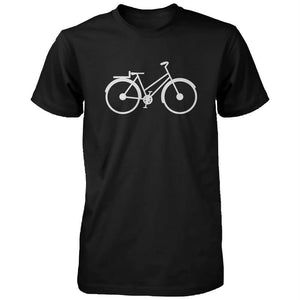 Bicycle And Tricycle Dad and Baby Matching T-shirts