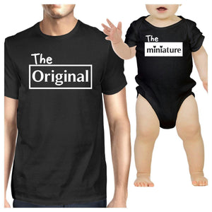Original And Mini Dad Baby Matching Outfits Gift Ideas For New Dads