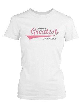 Grandma Shirts World's Greatest Grandma - Gifts for Grandparents Day