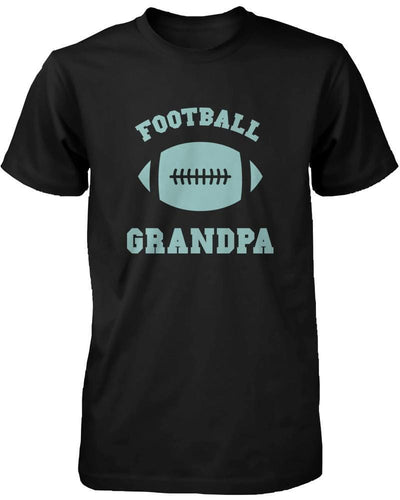 Football Grandpa Graphic Shirts Cute Christmas Gifts Ideas for Grandfather