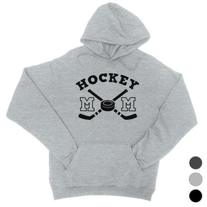 Hockey Mom Unisex Pullover Hooded Sweatshirt Funny Mothers Day Gift