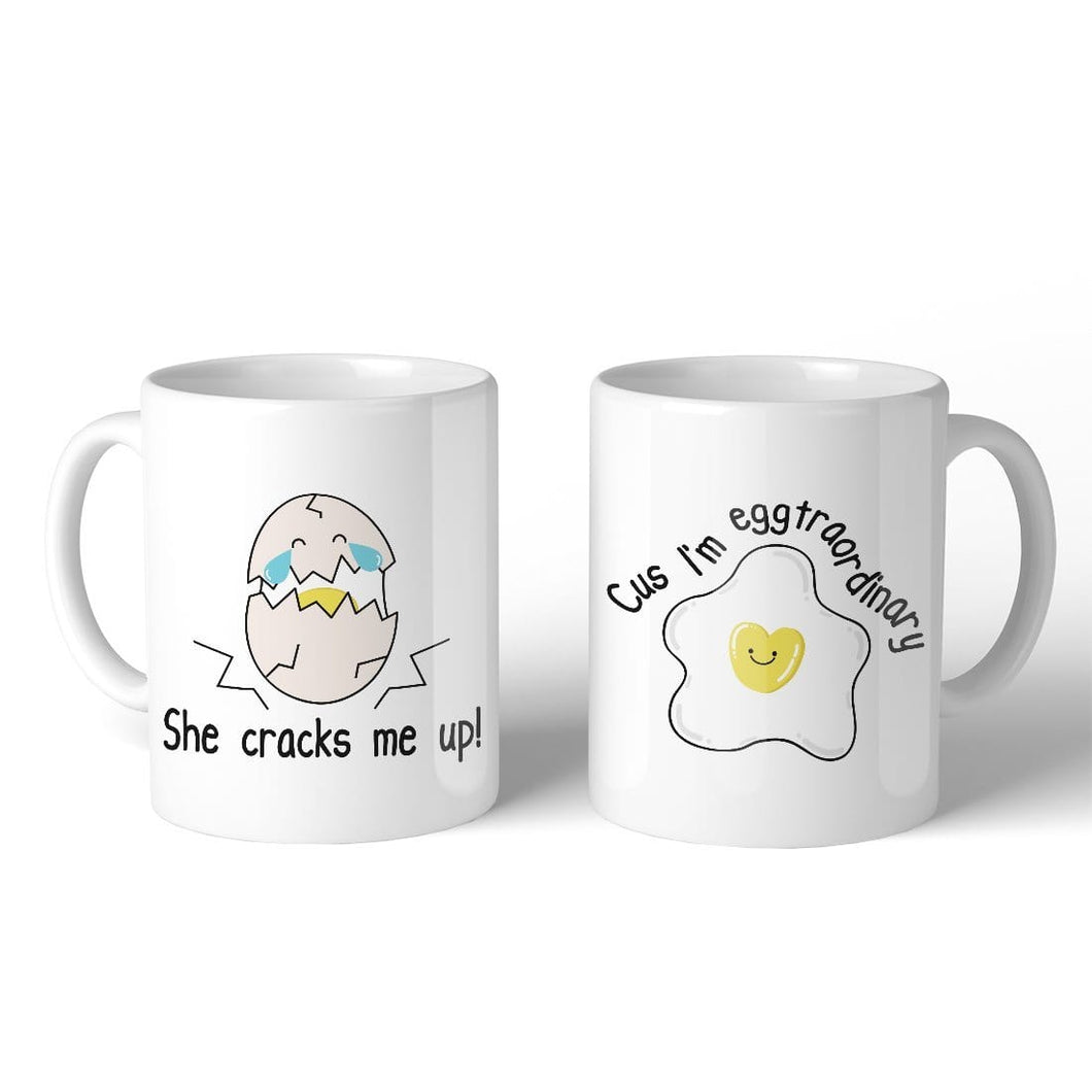 Gift For Couple On Wedding: DealsBlast.biz I Egg Crack Eggtraordinary Cute Matching