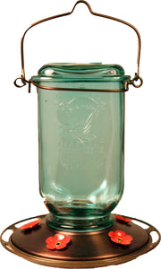Classic Brands - Humming - Mason Jar Glass Hummingbird Feeder (Case of 4 )