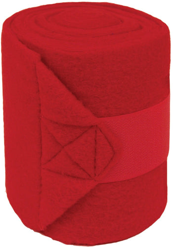 Partrade          P - Pol0 Fleece Bandages For Horses