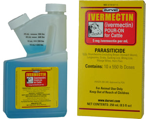 Durvet Inc              D - Ivermectin Pour On For Cattle