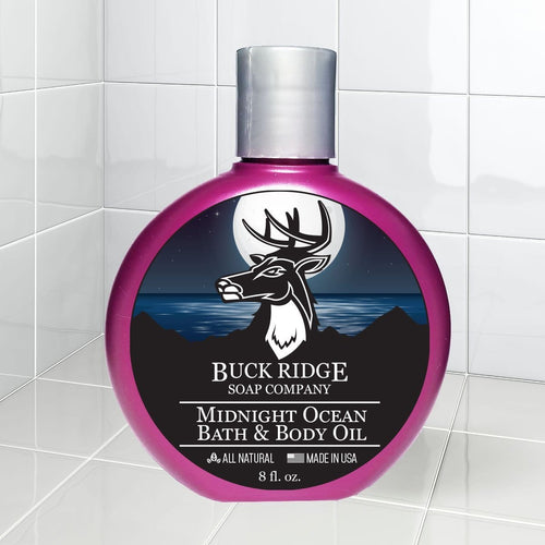 Midnight Ocean Bath and Body Oil