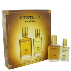 STETSON by Coty Gift Set -- 1.5 oz Cologne + .75 oz After Shave