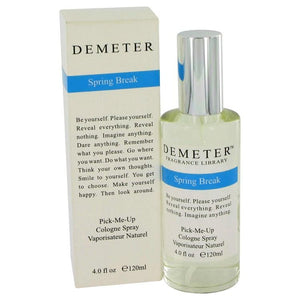Demeter Spring Break by Demeter Cologne Spray 4 oz for Women