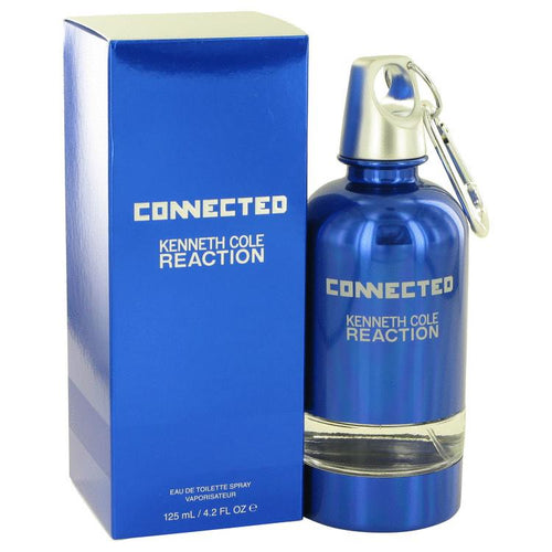 Kenneth Cole Reaction Connected by Kenneth Cole Eau De Toilette Spray 4.2 oz for Men
