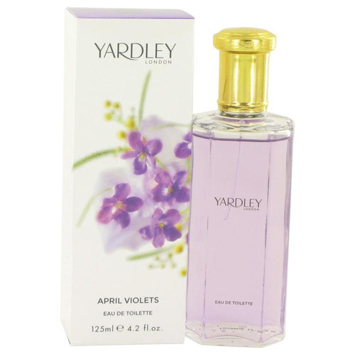 April Violets by Yardley London Eau De Toilette Spray 4.2 oz for Women