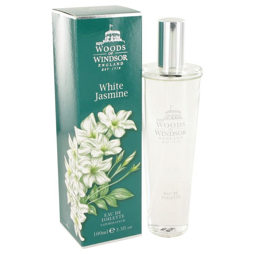 White Jasmine by Woods of Windsor Eau De Toilette Spray 3.3 oz for Women