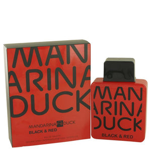 Mandarina Duck Black & Red by Mandarina Duck Eau De Toilette Spray 3.4 oz for Men