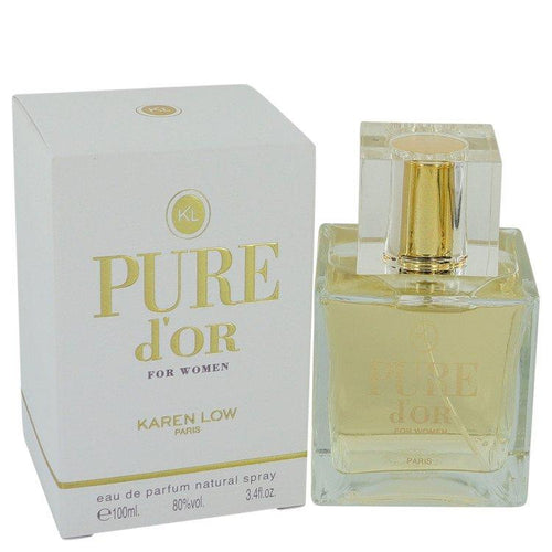 Pure D'or by Karen Low Eau De Parfum Spray 3.4 oz for Women