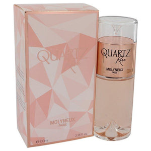 Quartz Rose by Molyneux Eau De Parfum Spray 3.38 oz for Women