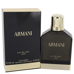 Armani Eau De Nuit Oud by Giorgio Armani Eau De Parfum Spray 3.4 oz for Men