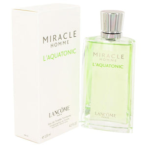 MIRACLE L'AQUATONIC by Lancome Eau De Toilette Spray 4.2 oz for Men