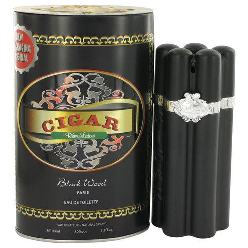 Cigar Black Wood by Remy Latour Eau De Toilette Spray 3.3 oz for Men