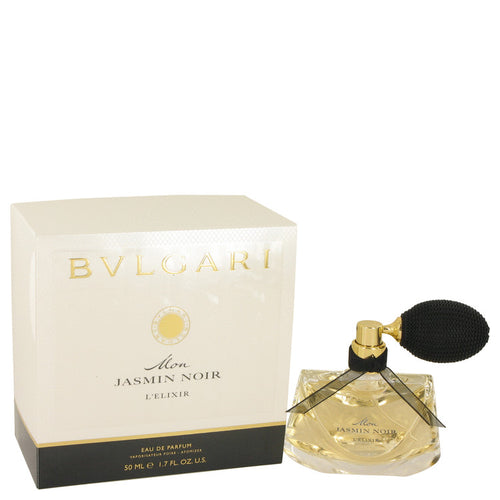 Mon Jasmin Noir L'elixir by Bvlgari Eau De Parfum Spray 1.7 oz for Women