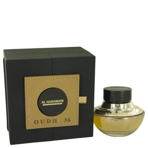 Oudh 36 by Al Haramain Eau De Parfum Spray (Unisex) 2.5 oz for Men