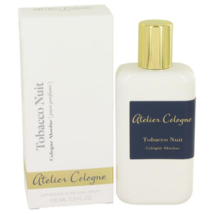 Tobacco Nuit by Atelier Cologne Pure Perfume Spray (Unisex) 3.3 oz for Women