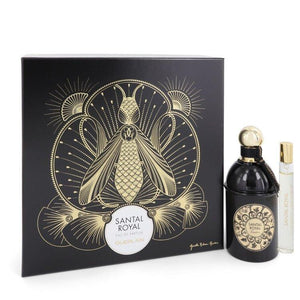 Santal Royal by Guerlain Gift Set -- 4.2 oz Eau De Parfum Spray + .5 oz Travel Size Eau De Parfum Spray for Women