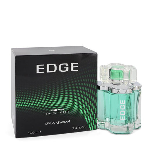Swiss Arabian Edge by Swiss Arabian Eau De Toilette Spray 3.4 oz for Men