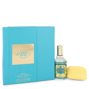 4711 by Muelhens Gift Set -- 3 oz Eau De Cologne Spray + 3.5 oz Soap for Men