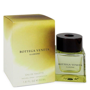Bottega Veneta Illusione by Bottega Veneta Eau De Toilette Spray 1.6 oz for Men