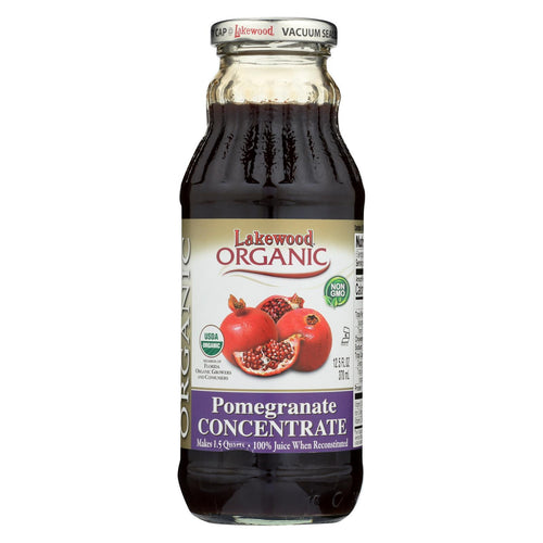 Lakewood Organic 100 Percent Fruit Juice Concentrate - Pomegranate - 12.5 Oz