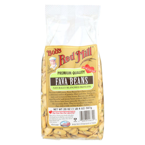 Bob's Red Mill - Fava Beans - 20 Oz - Case Of 4