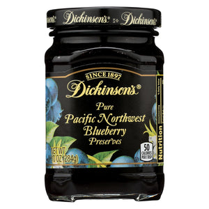 Dickinson Preserves - Blueberry - Case Of 6 - 10 Oz